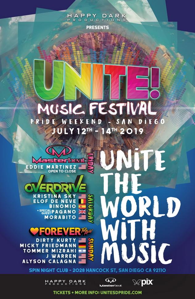 UNITE! Music Festival Lineup - 2019