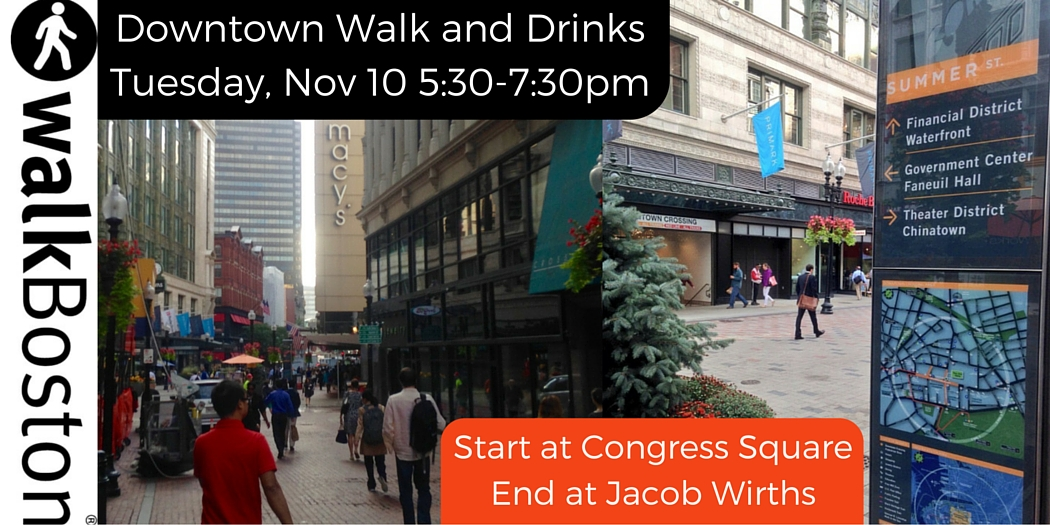 downtown walk and drinks
