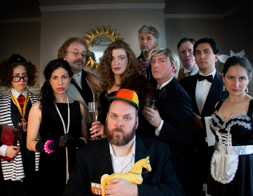 The cast of 'The Life You'll Never Have' an Exquisite Corpse Soap Opera!