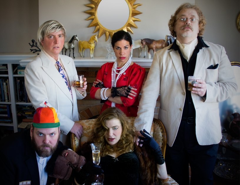 The Hardashian Family star in an Exquisite Corpse Soap Opera