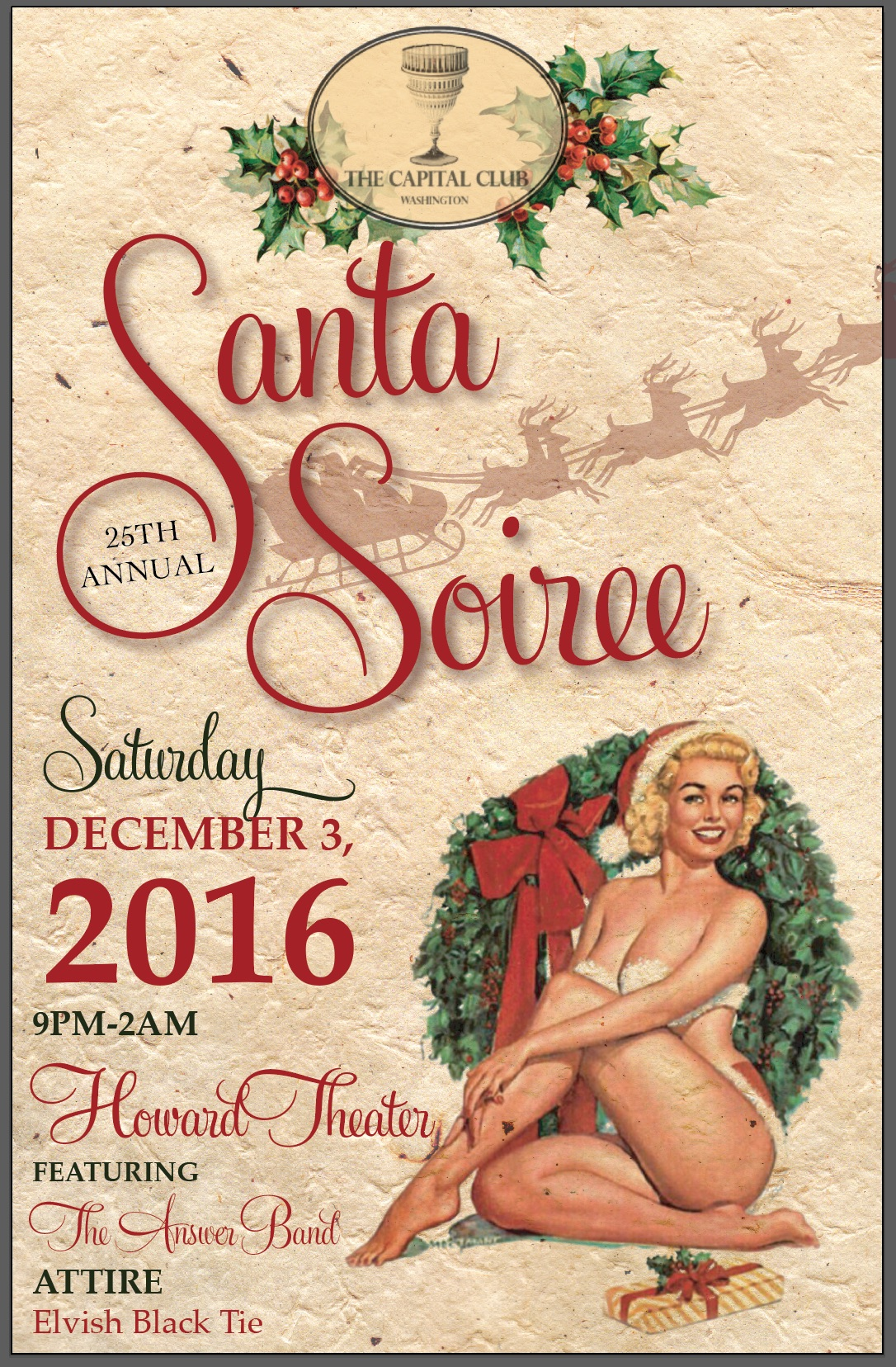 Santa Soiree 2016