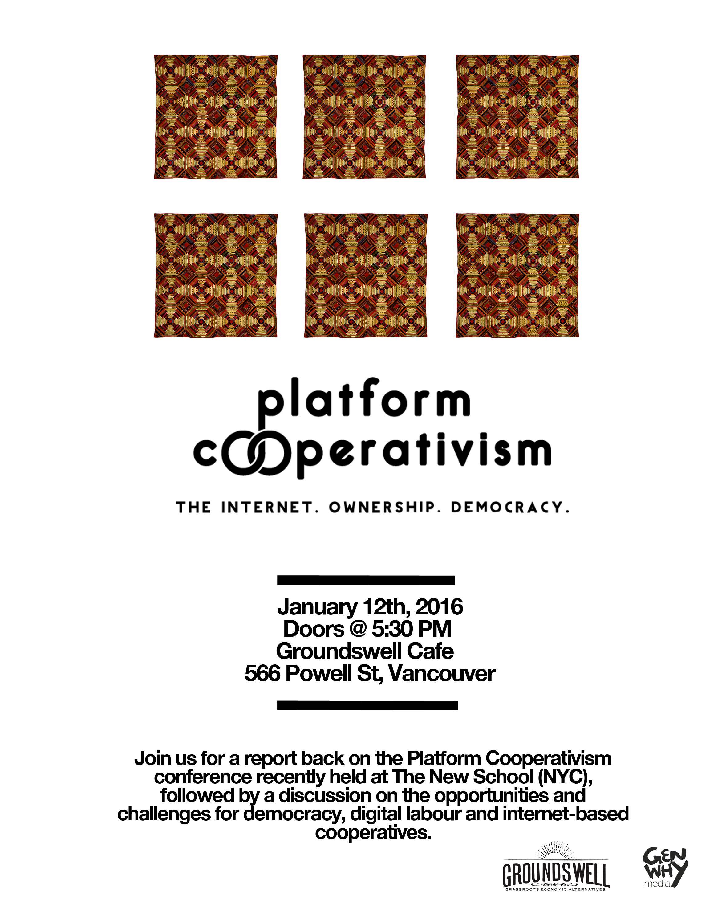 Platform Cooperativism Recap Vancouver