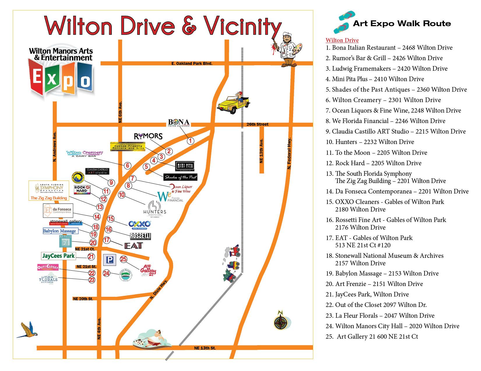 WMAAEE Site Map 11.07.17