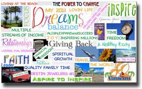 vision dream board