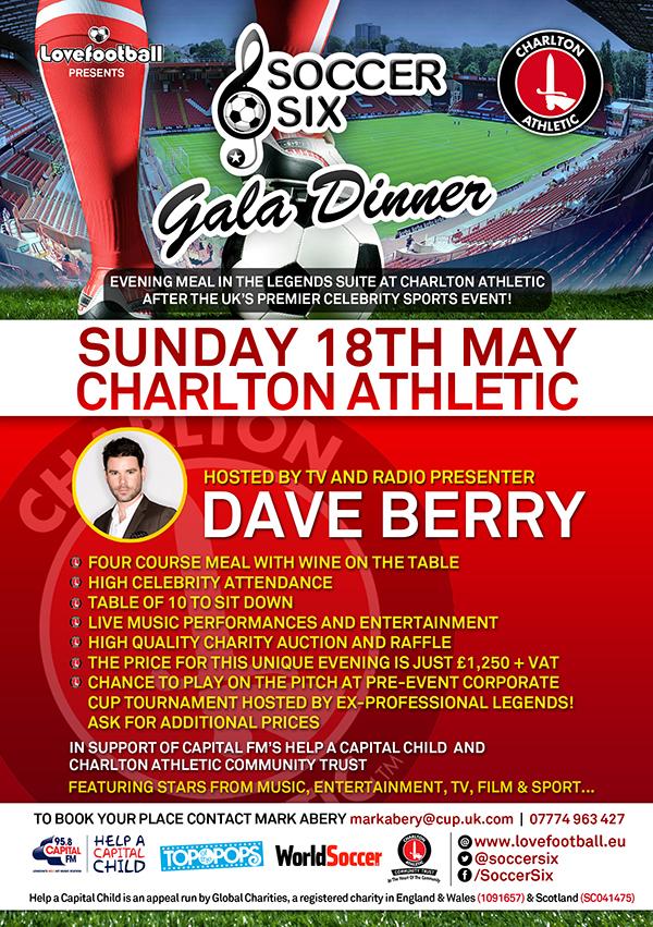 Soccer Six: Dinner Gala Flyer