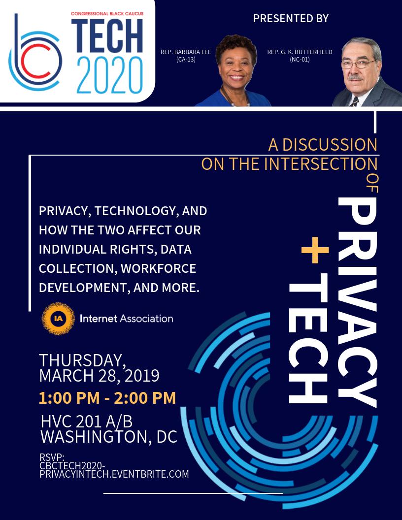 CBC TECH 2020 - Privacy in Tech Flyer