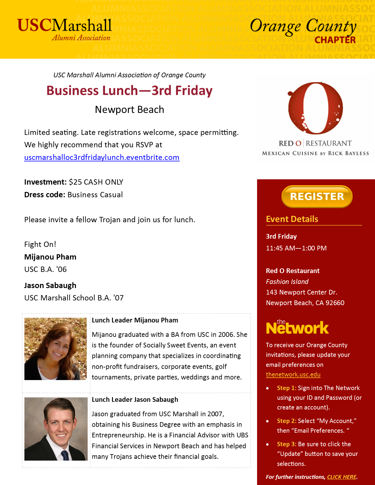3rd Friday Lunch