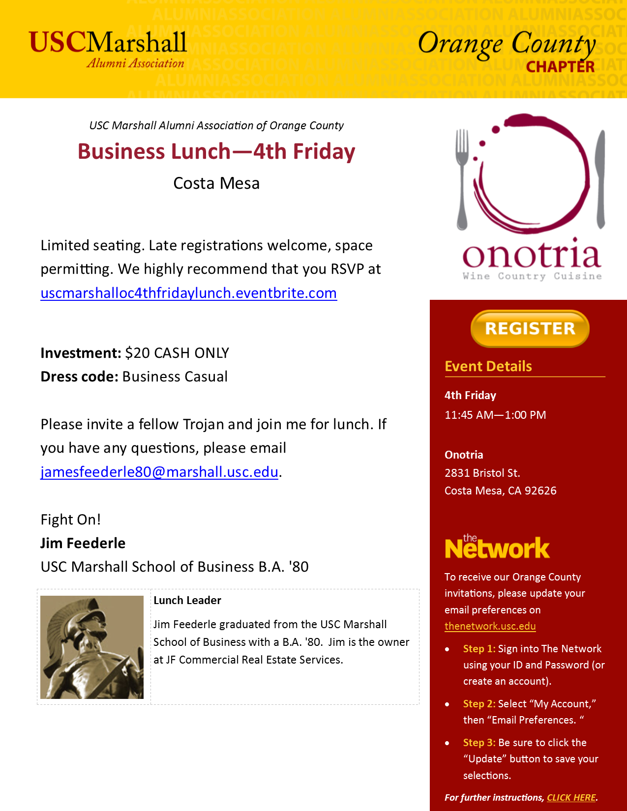 4th Friday Lunch