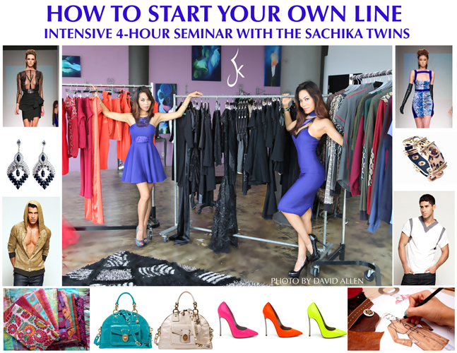 how to start your own line seminar by the SACHIKA TWINS