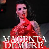 Magenta Demure - Speakeasy Sunday