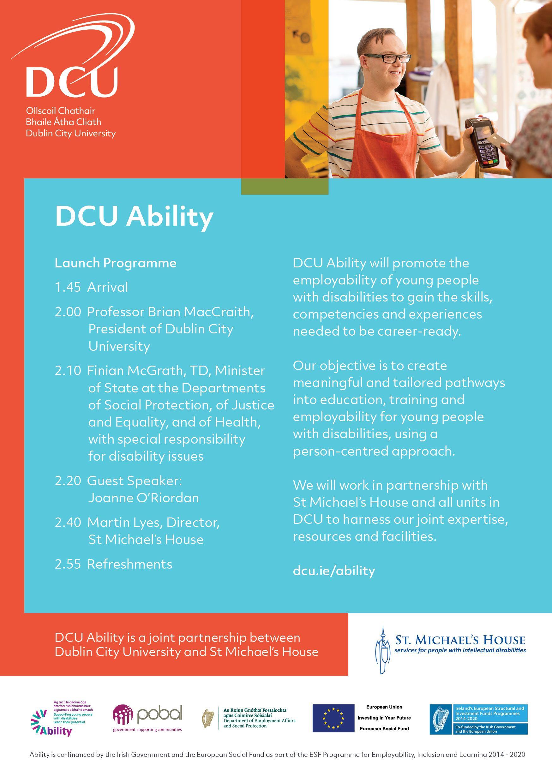 DCU Ability Programme