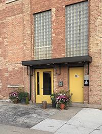 Kitchen Chicago front door