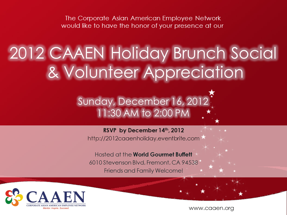 2012 Holiday Flyer