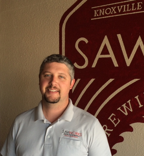 Adam Palmer with Saw Works Brewing Company