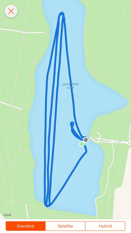 Triathlon- Leg 1 - Paddle - 7km