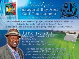 Adonal Foyle's Inaugural SF Bay Area Golf Tournament: Swinging...