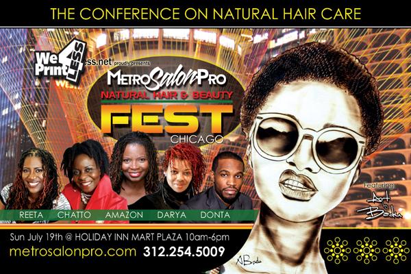 Natural Hair Fest By MetroSalonPro Header Banner