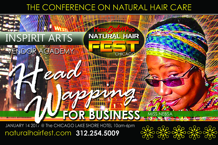 INSPIRIT ARTS HEAD WRAPPING FOR BUSINESS