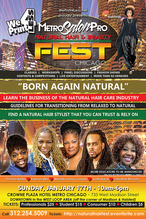 #naturalhairfestchicago Official Flyer