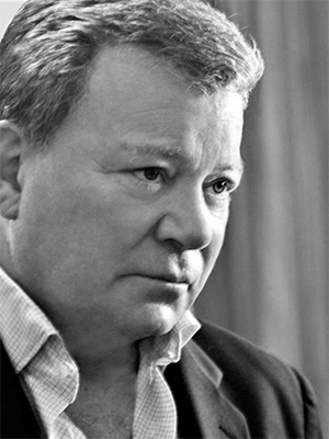 William Shatner, Actor, Writer, Director, Producer (photo by Helene DeLillo)