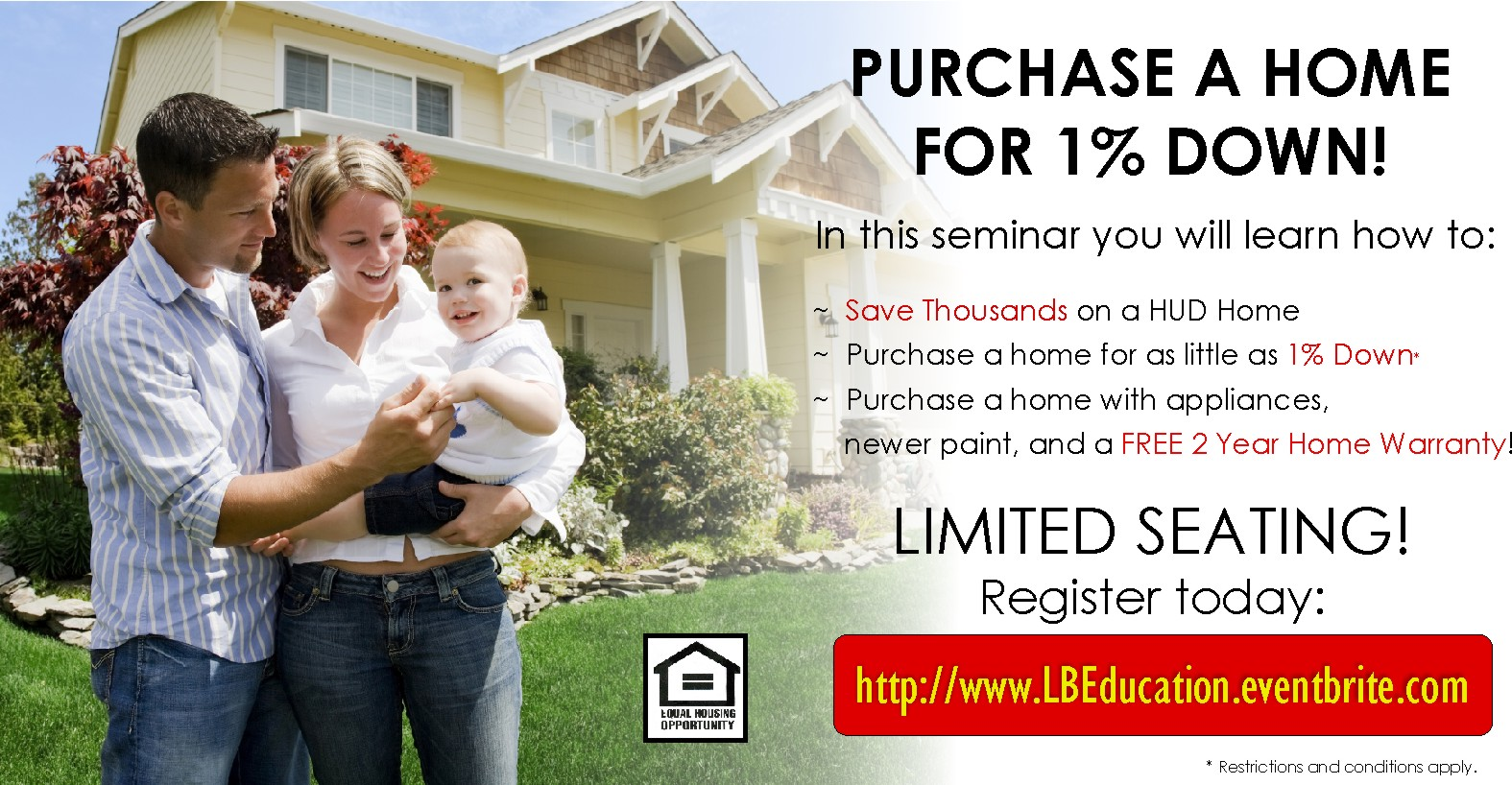 Save Thousands On Purchasing a HUD Home!