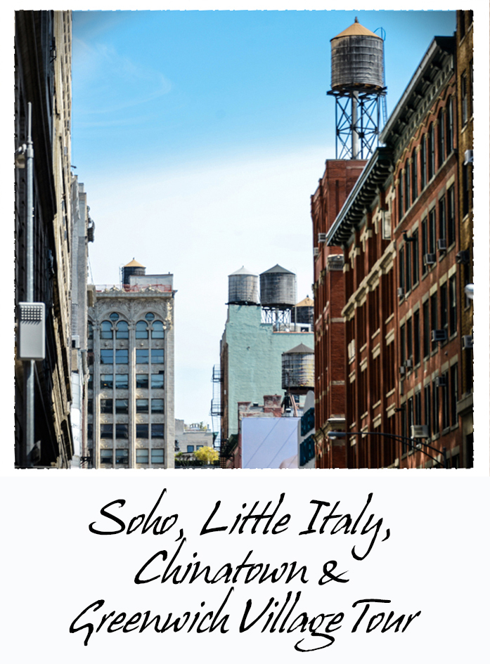 Soho, Little Italy, Chinatown, Greenwich Village : Visite Guidée BPVNY