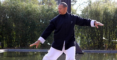 Tai Chi at the Reflecting Pool