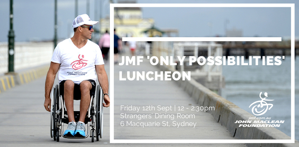 JMF Only Possibilities Luncheon Header
