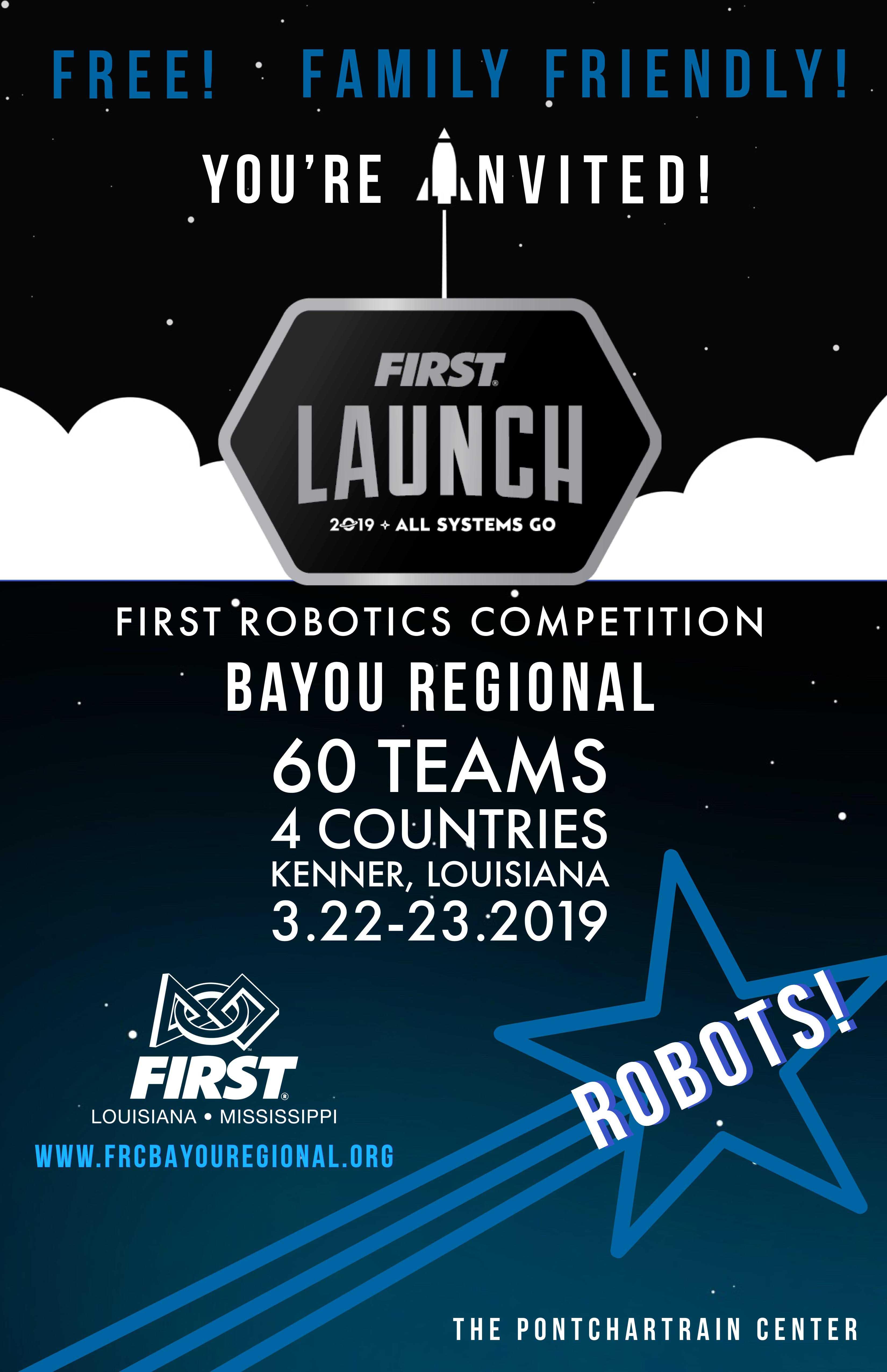 Bayou Regional Public Invitation 2019