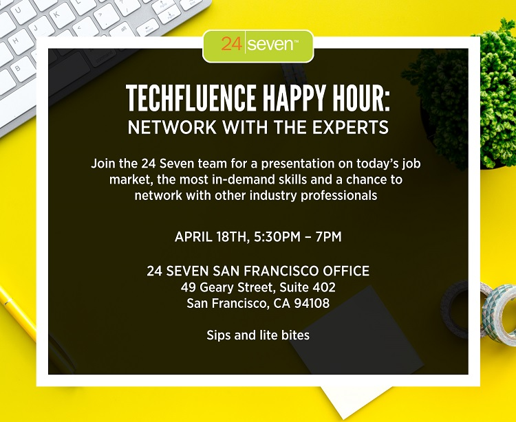 Techfluence Happy Hour: Network with the Experts