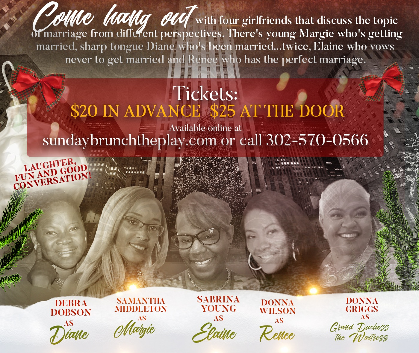 Sunday Brunch Stage Play