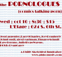 THE PORNOLOGUES: A Philly Sketchfest Fundraiser