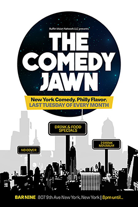 The Comedy Jawn Flyer