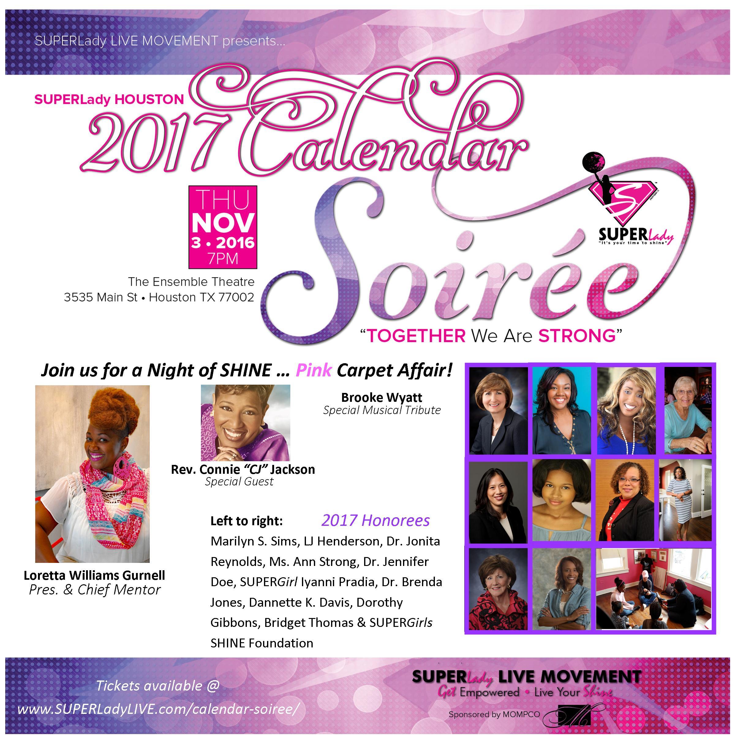 Promo flyer Soiree 2017