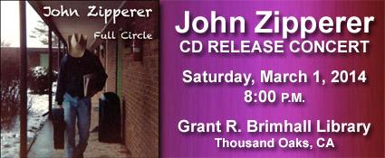 John Zipperer CD Release