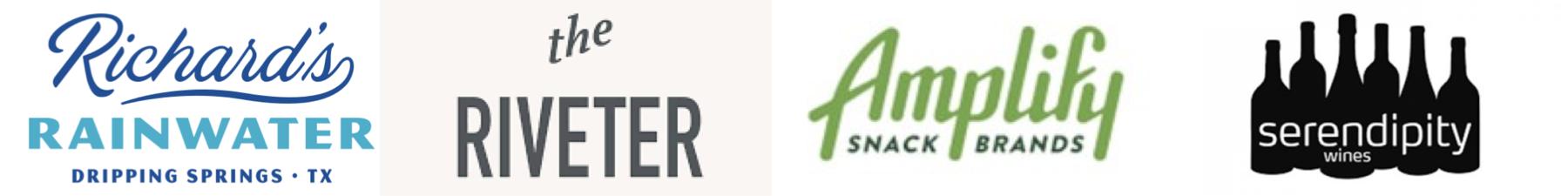 Event sponsors' logos