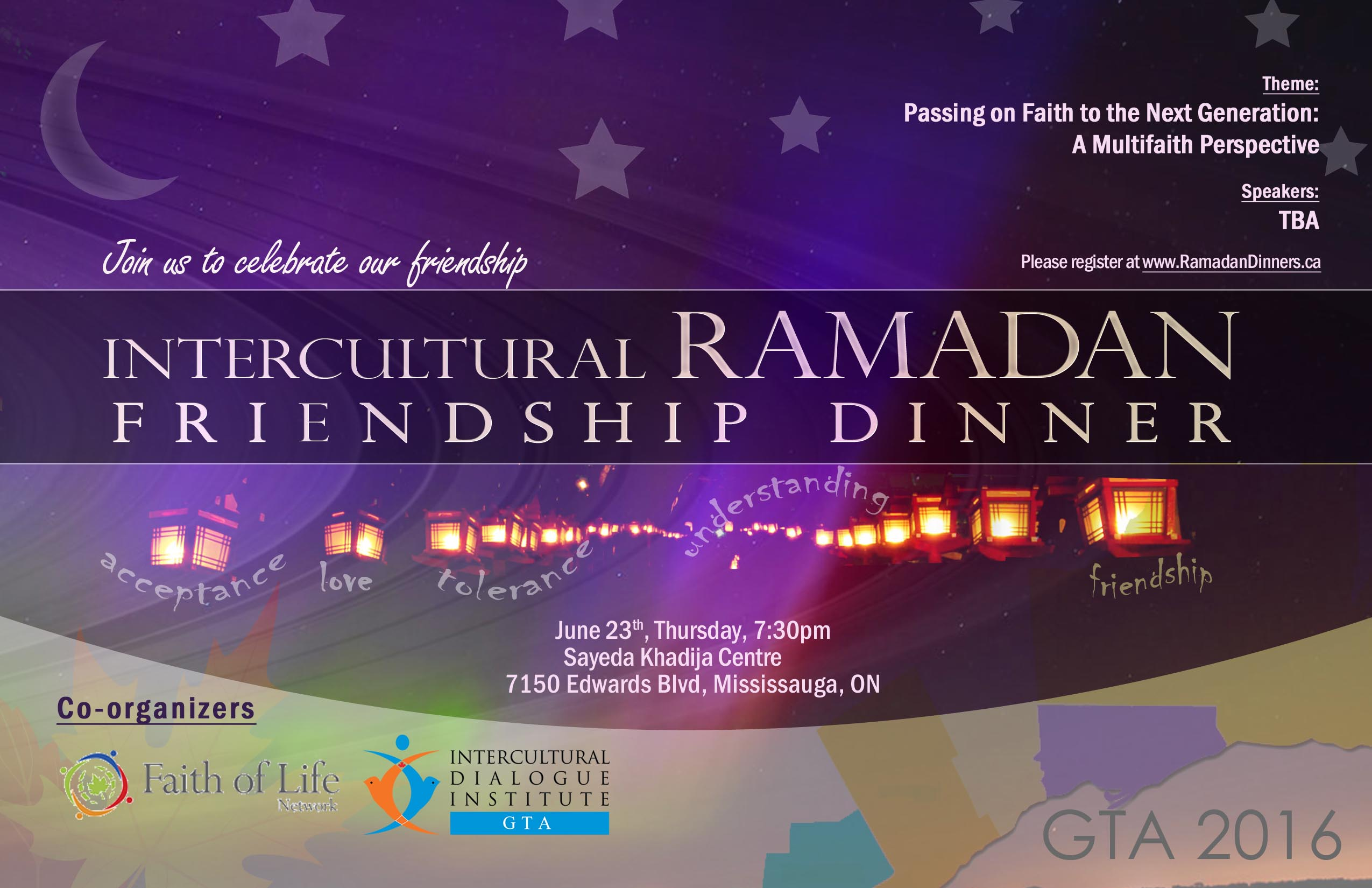 Iftar Dinner with Faith of Life Network