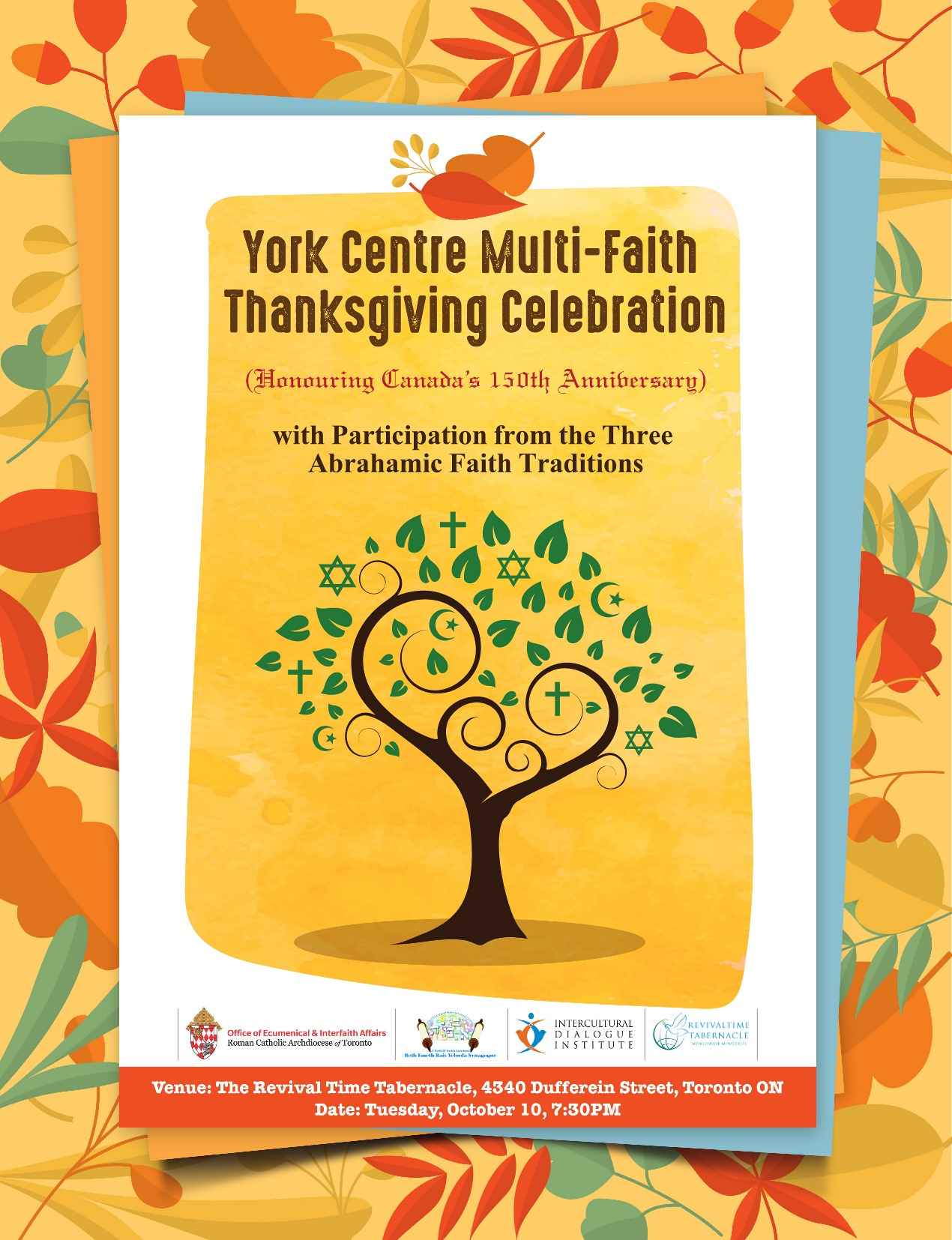Multifaith Thanksgiving Celebration