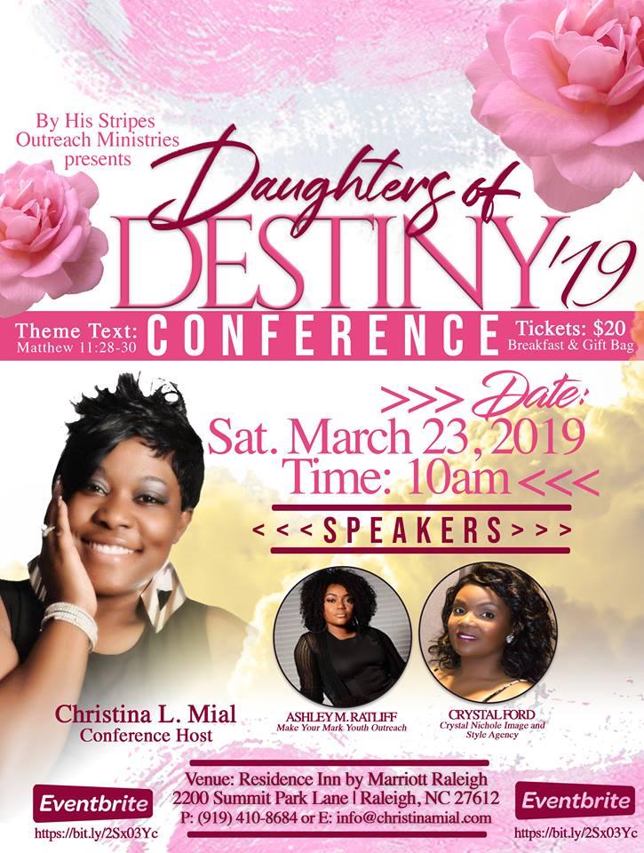 Daughters Of Destiny 2019