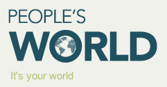 People's World Logo