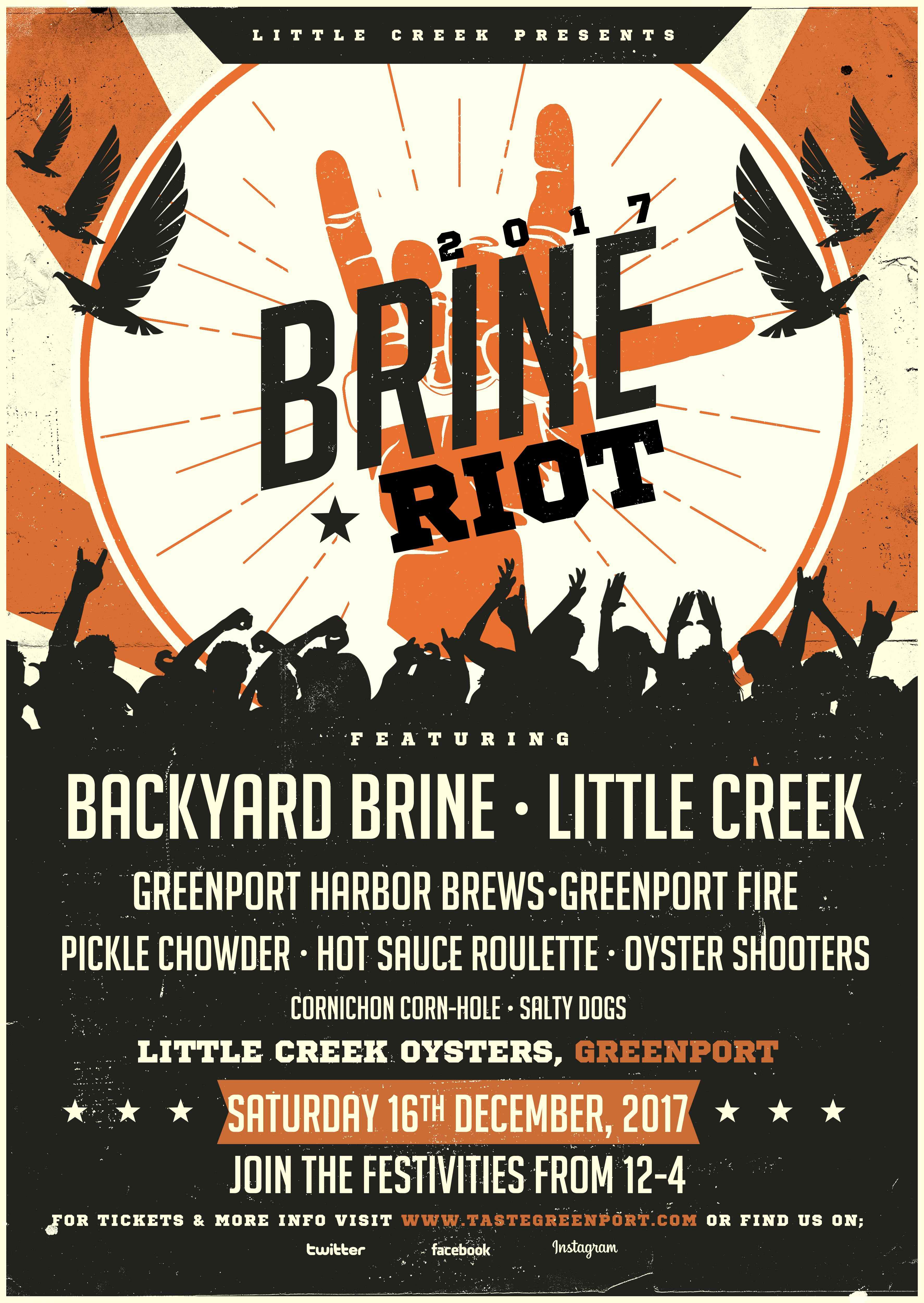 Brine Riot Poster