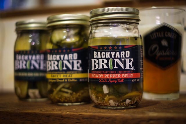 Backyard Brine Pickles