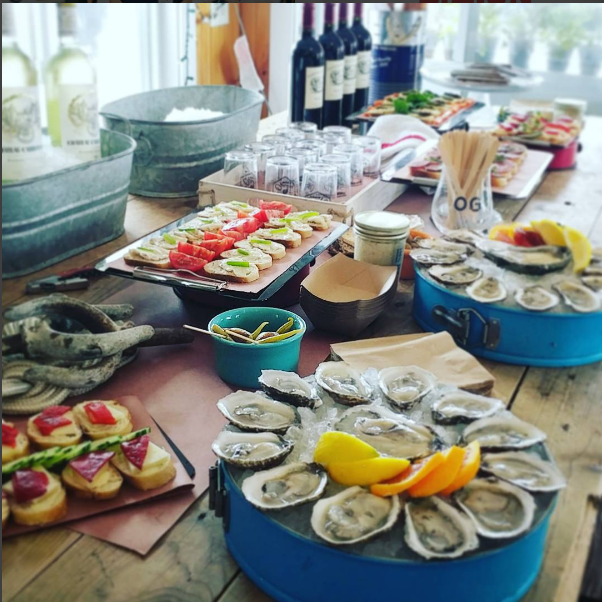 Oysters at Little Creek