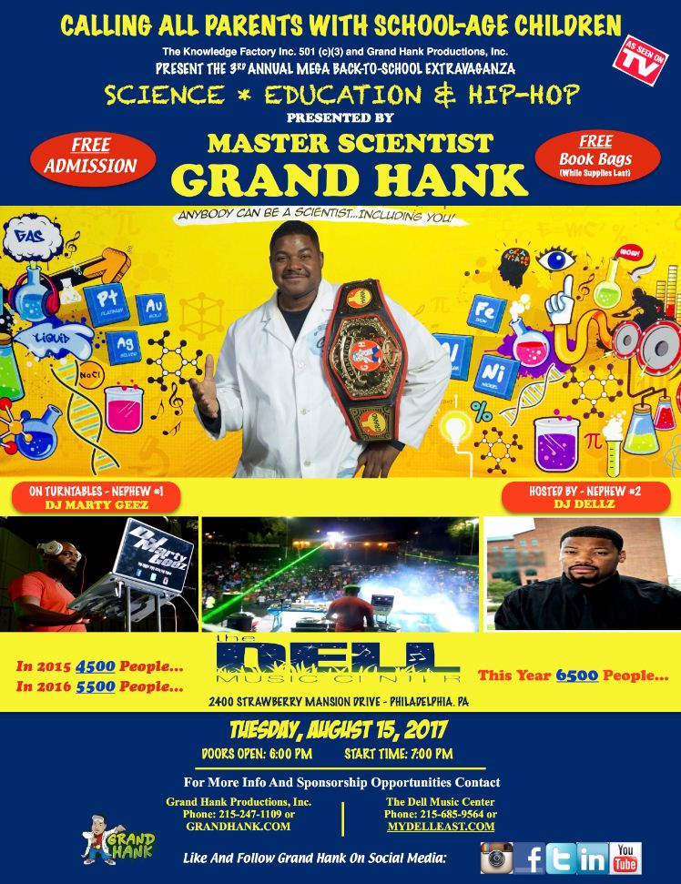 Grand Hank Mega Back-To-School Extravaganza
