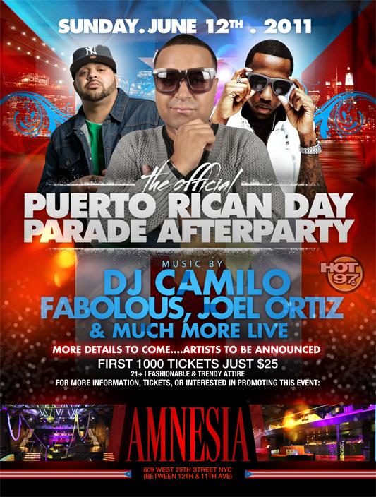 Amnesia with DJ Camilo and Fabolous