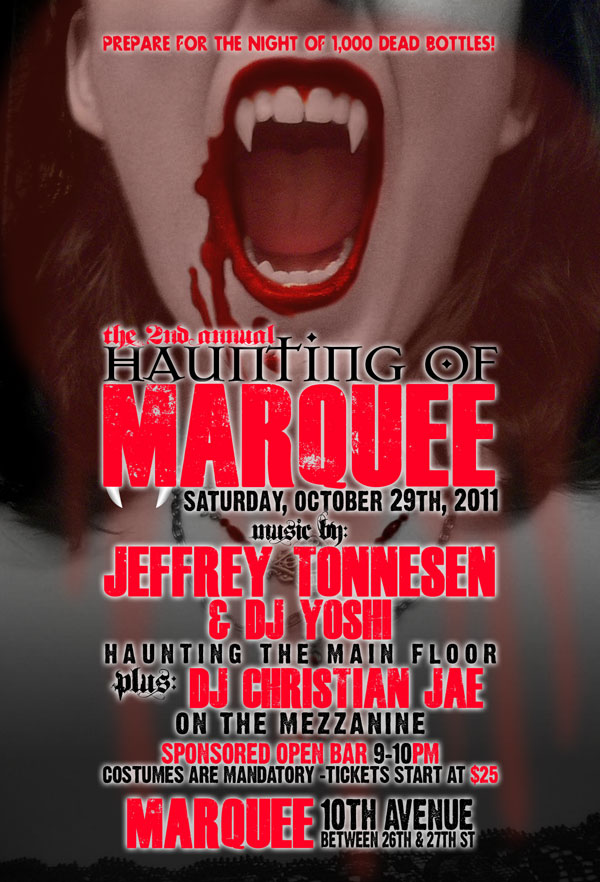 Marquee NYC Halloween 2011