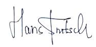 Hans Fritsch (Signature)