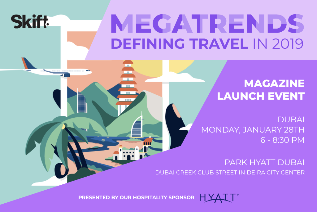 Skift Megatrends Launch Event - Dubai, January 28th