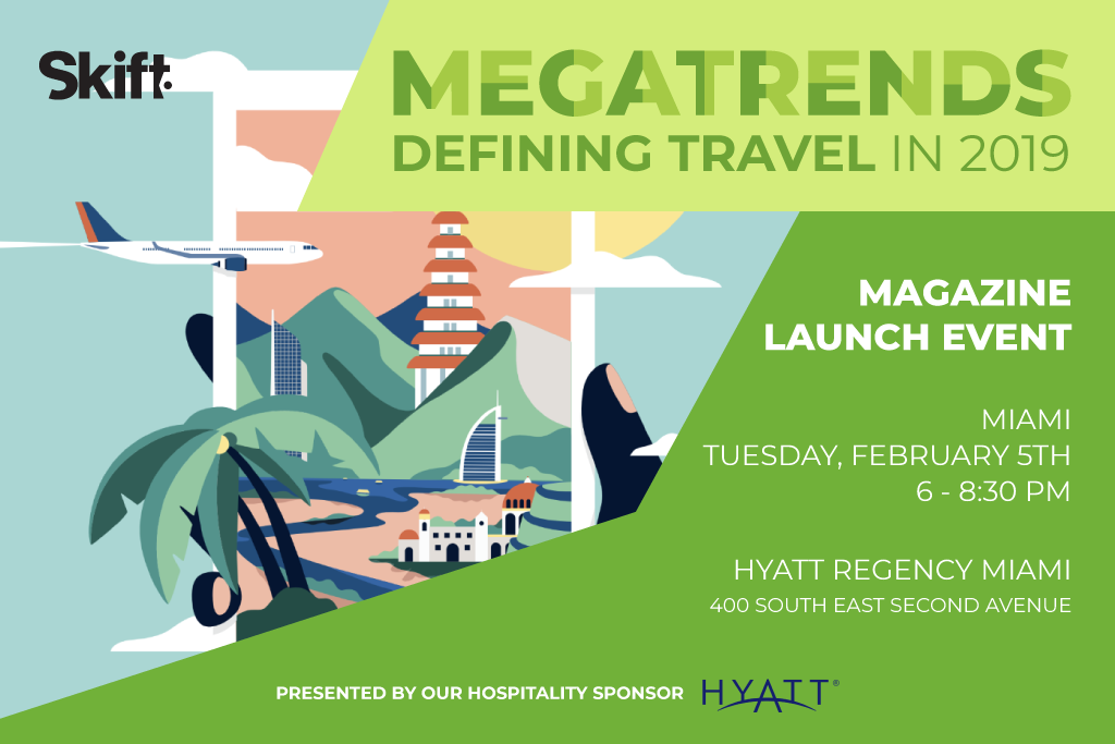 Skift Megatrends Launch Event - Miami, February 5th