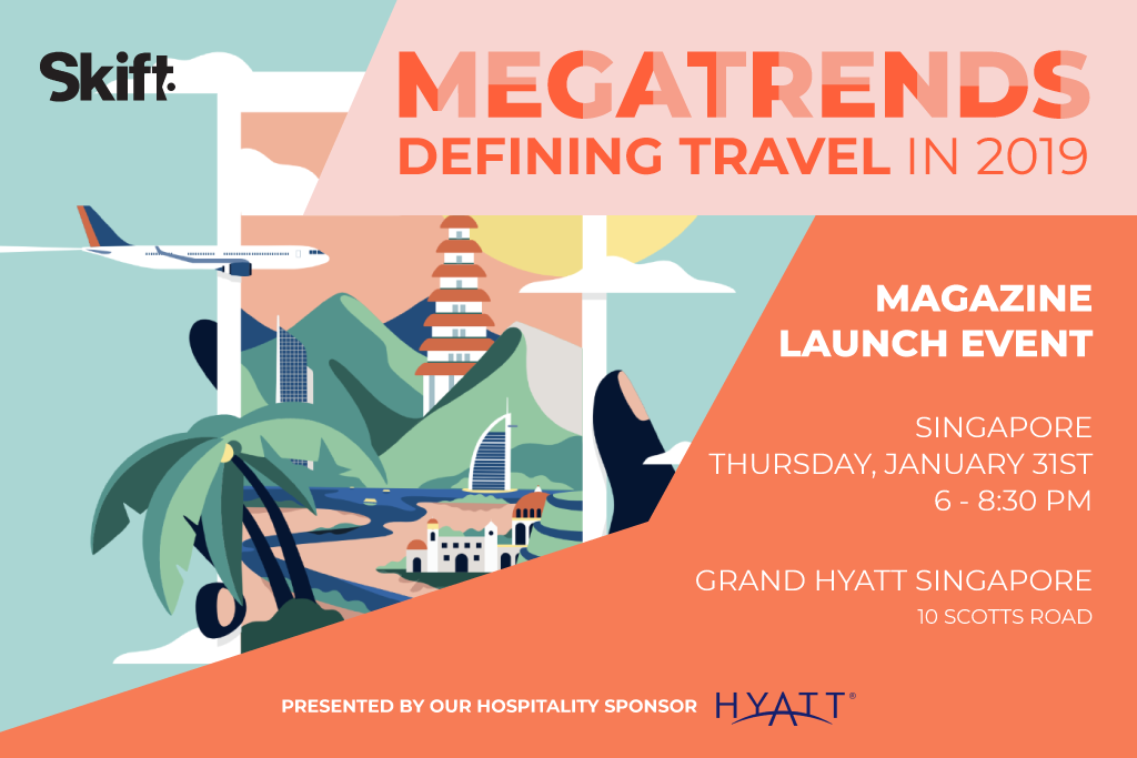 Skift Megatrends Launch Event - Singapore, January 31st